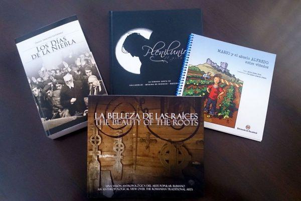 La empresa SERCAM dona a la Biblioteca Municipal 4 Libros