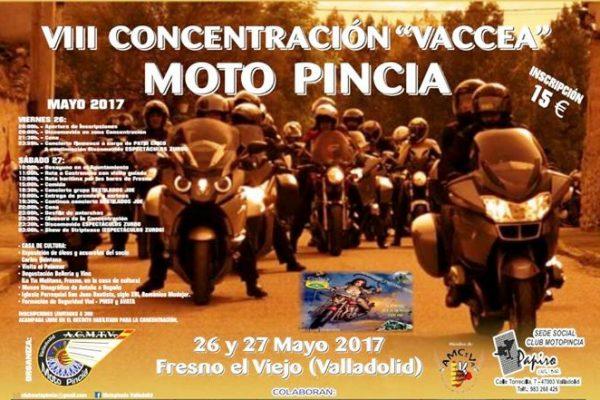 """CARTA DE PRESENTACION VIII CONCENTRACION VACCEA """"MOTO PINCIA"""""""