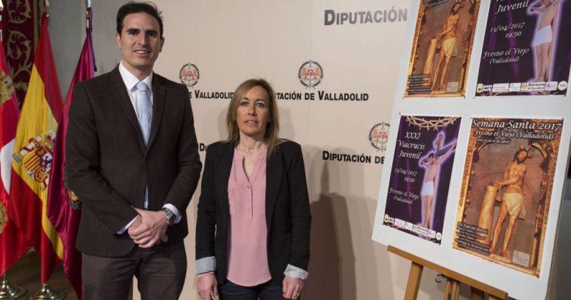 LA DIPUTACIÓN DE VALLADOLID PRESENTA EL VIACRUCIS JUVENIL DE FRESNO EL VIEJO