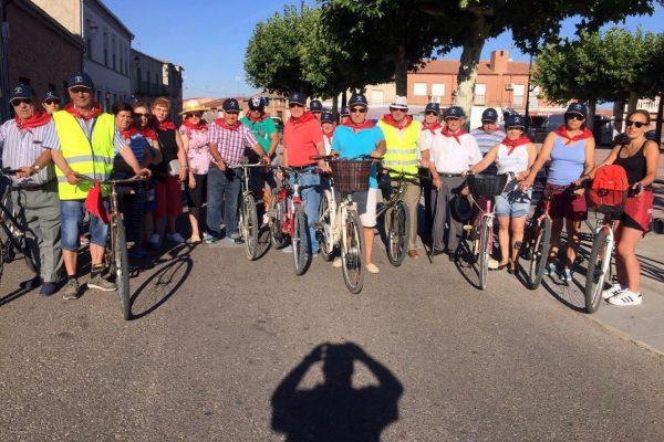 La Asociación de Jubilados San Agustín se sube en Bici este Verano