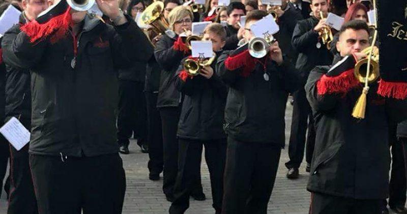 Éxito de público en el primer certamen de bandas procesionales celebrado en Fresno el Viejo