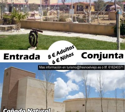 Promoción entrada conjunta La Era de las Aves + Cañada Natural