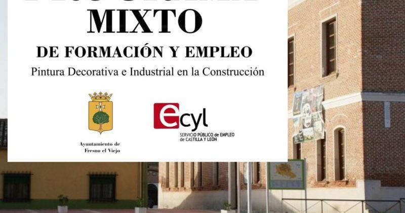 Nuevo Programa Mixto concedido al Ayuntamiento de Fresno el Viejo