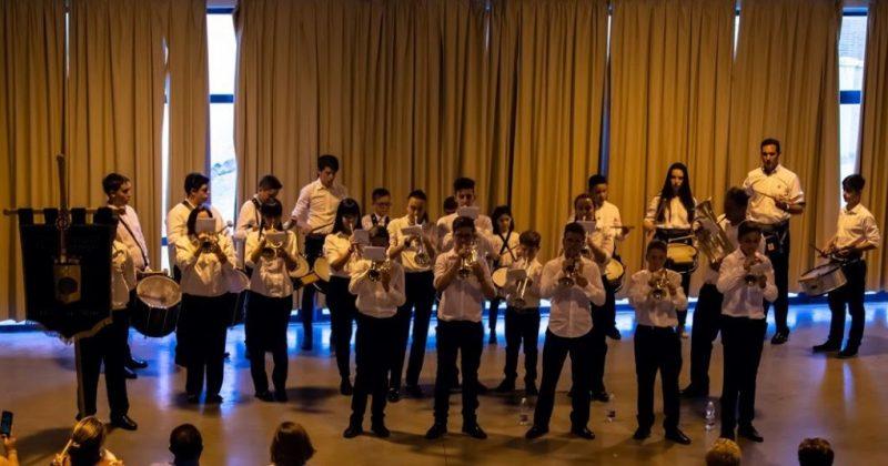 Actuación de la Banda de TT.CC. San Juan Bautista de Fresno el Viejo en Torrelobatón