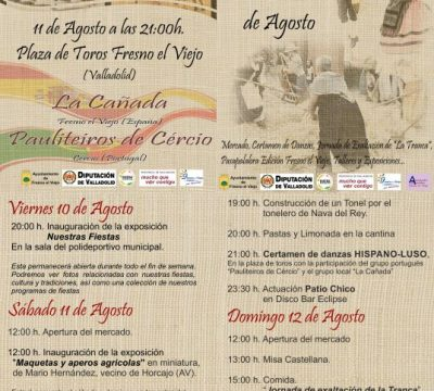 IX MERCADO CASTELLANO DE FRESNO EL VIEJO