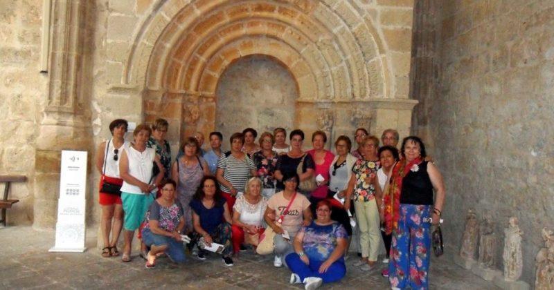 Excursión de las Águedas de Fresno el Viejo a Palencia