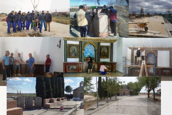 Fresno el Viejo inaugura el nuevo paseo de la Soledad y la rehabilitación de su ermita el próximo día 15