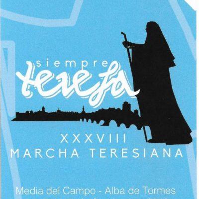 La XXXVIII Marcha Teresiana pasará por Fresno el Viejo del 17 al 18 de septiembre