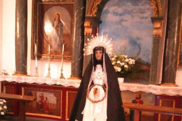 Fresno el Viejo restaurará las imágenes de la Virgen de la Soledad y Santa Ana