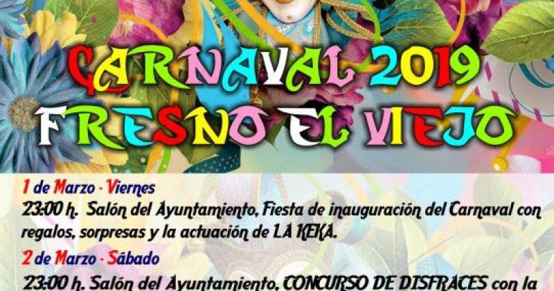 Carnaval 2019 Fresno el Viejo