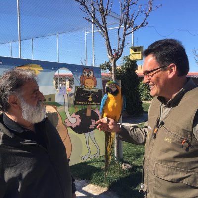 Fresno el Viejo, representado por el parque zoológico «LA ERA DE LAS AVES», aparecerá en el programa «El Arcón» de La 8 de Valladolid