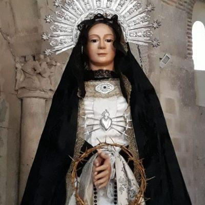 ¡Que más se puede pedir, Virgen de la Soledad!