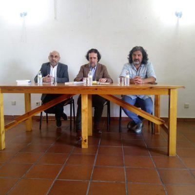 Luis Díaz Viana presenta su libro «Los Últimos Paganos» en la Casa de cultura de Fresno el Viejo