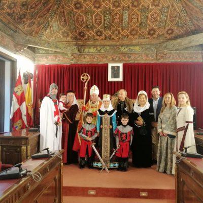Presentación en la Diputación de Valladolid de la Recreación Histórica de la Donación de la Villa de Fresno