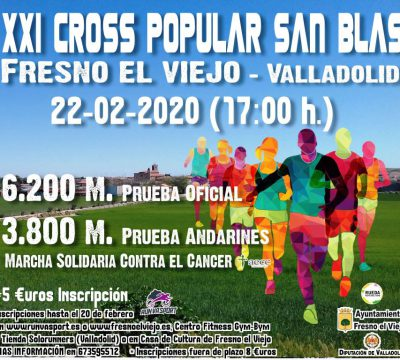 XXI Cross Popular San Blas «Fresno el Viejo»