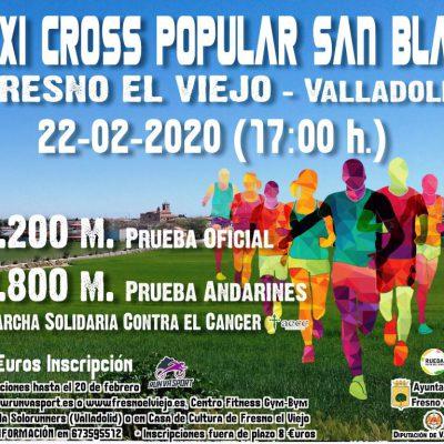 XXI Cross de San Blas, Todo listo para una nueva cita en Fresno el Viejo