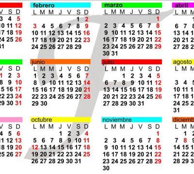Calendario Fresno el Viejo