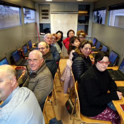 El Aula Móvil de la Diputación de Valladolid llega a Fresno el Viejo