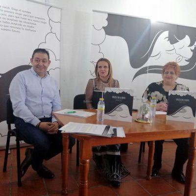 La Exposición «Un Beso en La Frente» concluye con una charla sobre la Violencia de Género
