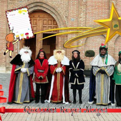 Los Reyes Magos Visitarán Fresno el Viejo estas navidades