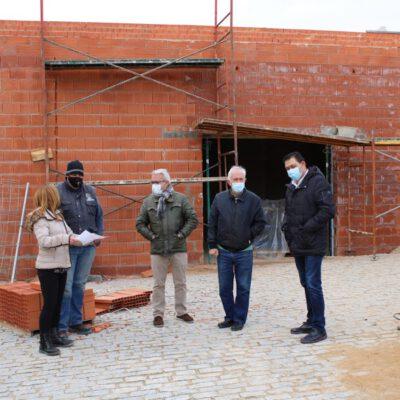 Visita a las obras del Edificio Parroquial