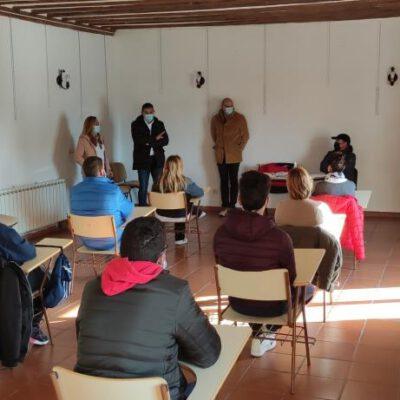 Da comienzo el Programa Mixto de formación y empleo de albañilería