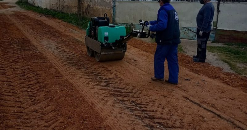 Se comienza el arreglo de diferentes caminos agrícolas