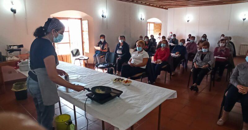 Arranca el taller de cocina cardiosaludable organizado por la Diputación de Valladolid.