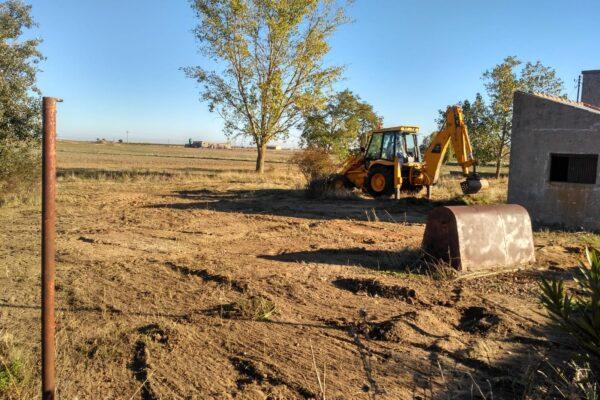 Comienzan los trabajos del proyecto medioambiental «La Fresneda del Lanzón».